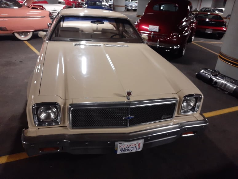 CHEVROLET MALIBU Coupe 1977