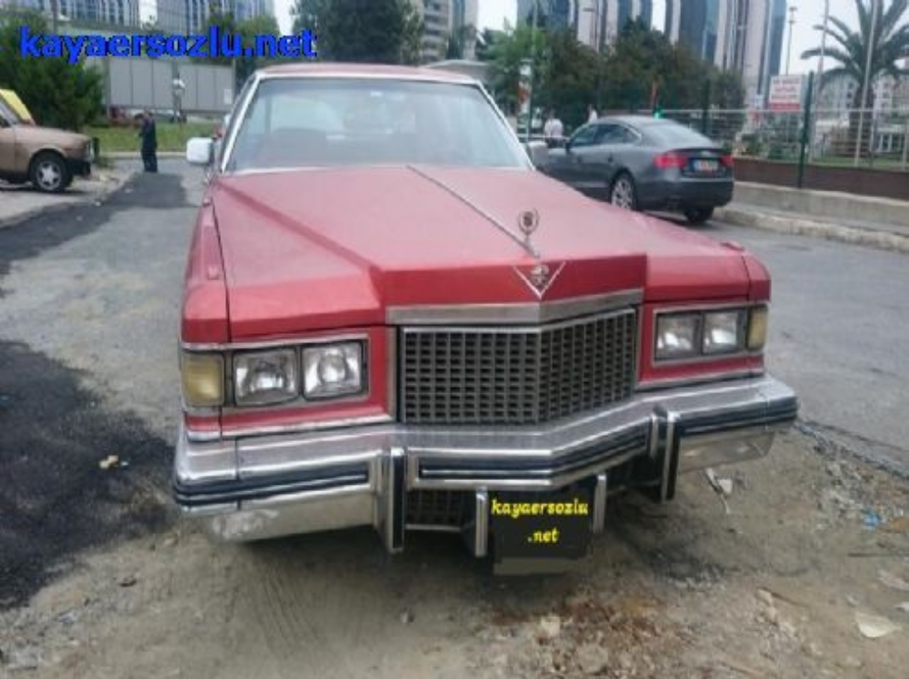 CADILLAC COUPE DeVille 1975