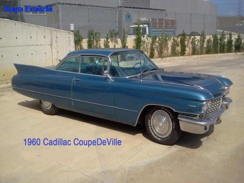 Cadillac   Coupe DeVille  1960